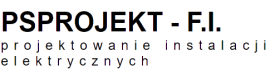 PSPROJEKT – F.I. Sławomir Pióro - projektowanie instalacji elektrycznych